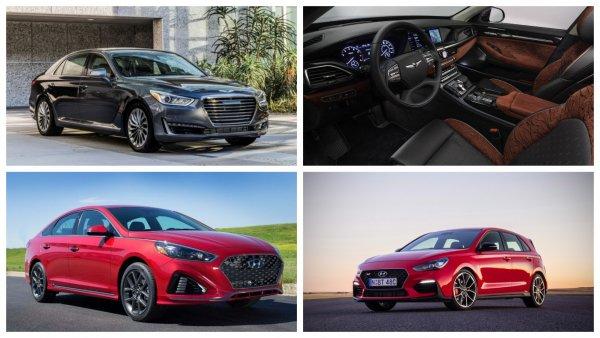 Hyundai привезет в Россию в 2019 году модели Elantra, Sonata, G90 и i30 N