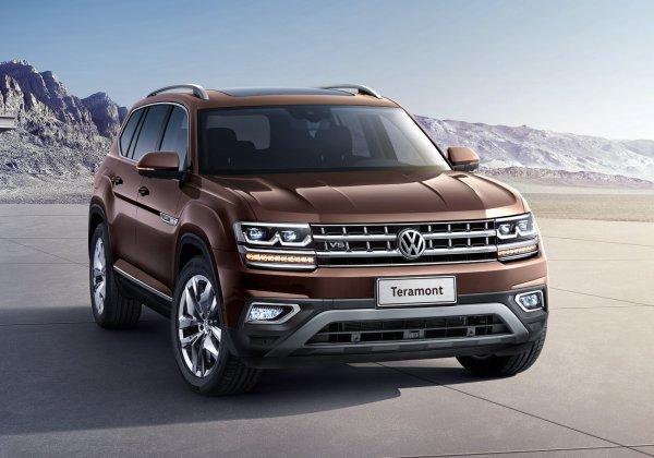 Больше «Крузака»: Автоблогер представил обзор нового Volkswagen Teramont