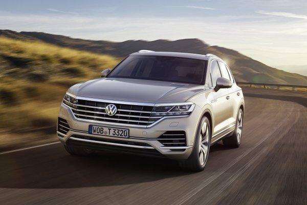 В России отзовут 178 Volkswagen Touareg