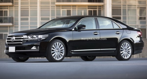 Если бы «Крузак» был седаном: Концепт Toyota Land Cruiser в кузове Lexus LS показали в сети