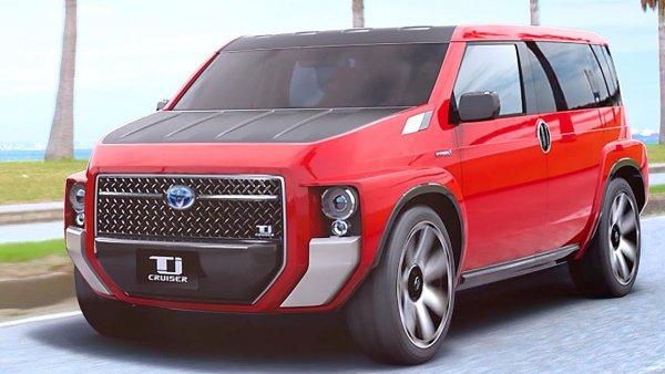 «Буханка» из «Крузака»: Чудный Toyota TJ Cruiser может стать серийным