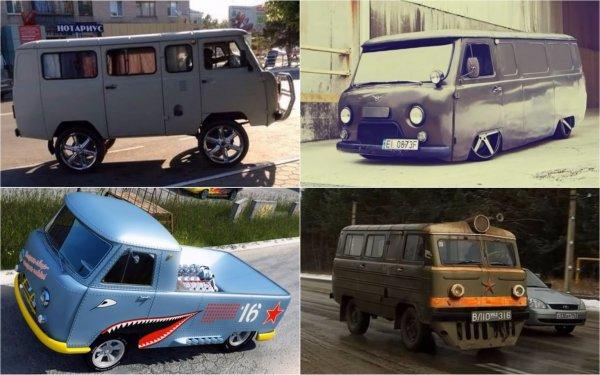 «Буханки», которые «взорвали» весь интернет: Показан ТОП-10 самых «бешеных» тюнинг-проектов УАЗ-452