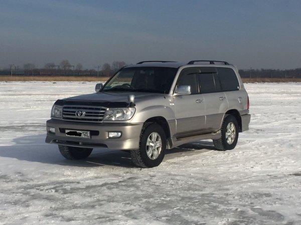 Как взрываются «Крузаки»: На видео показали Land Cruiser, «не осиливший» русскую зиму